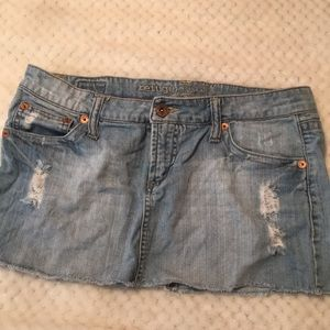 Refuge Cutoff Denim Skirt Size 11